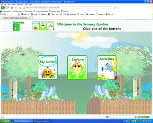 Sensory World and Sensory Rooms Flash Interactive House Site Map